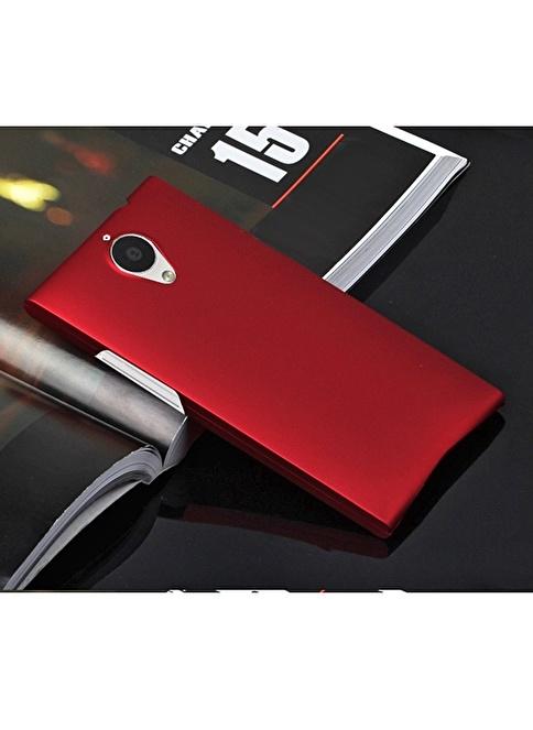 Microsonic Premium Slim Kılıf General Mobile Discovery Elite Kırmızı Renkli